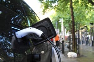 install a wall charger for your electric vehicle