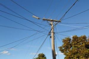 overhead service line